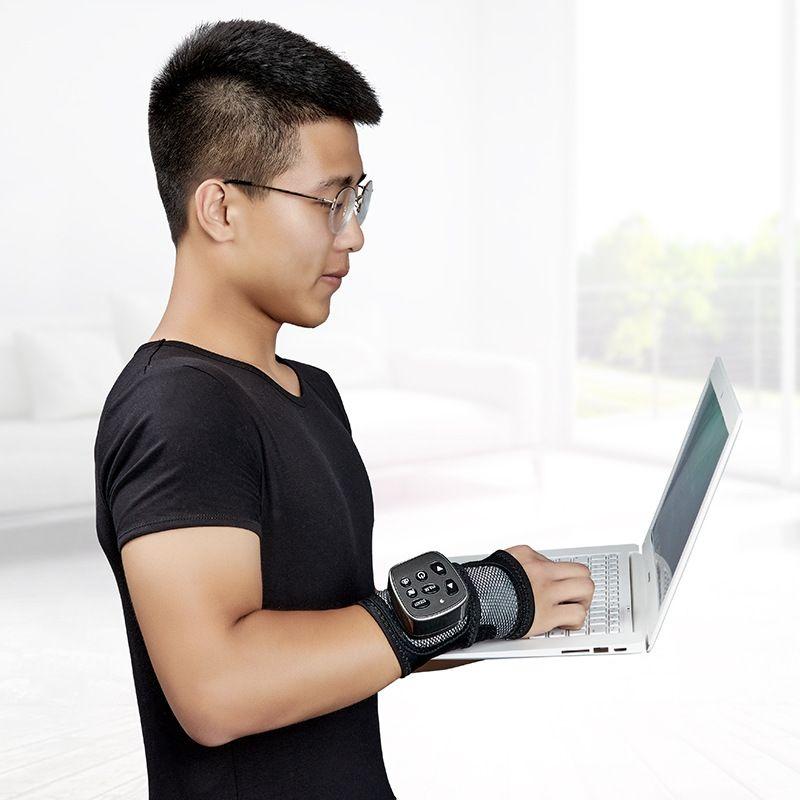 Vibration Physikalische Therapie Heizung Handgelenk Massager Muskel Joint Akupunkturpunkt Behandlung Und Entspannung Wireless Hand Massager T0042CM