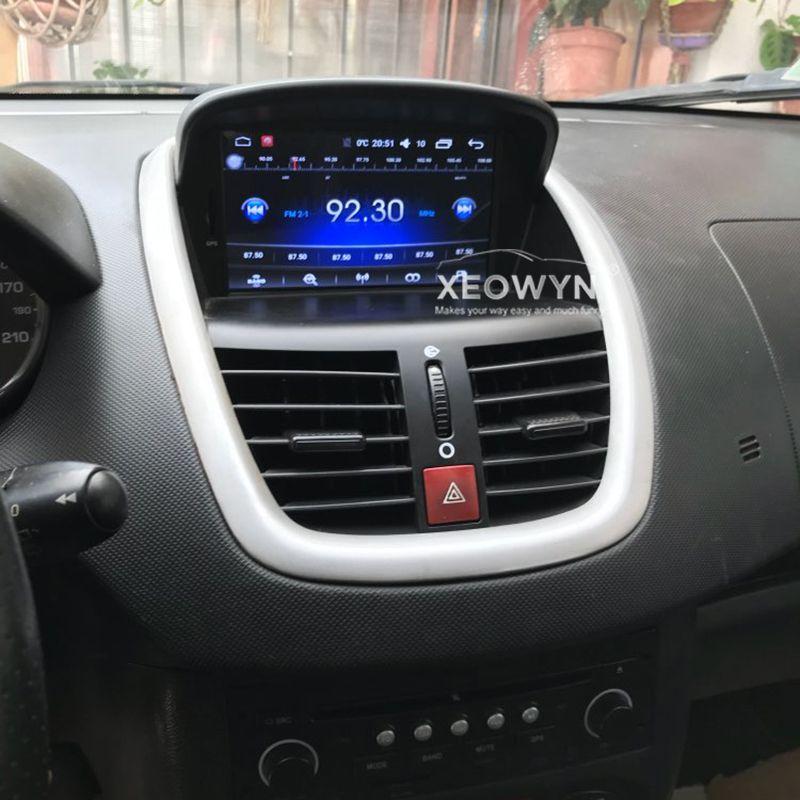 7 Android 6.0 Auto DVD Stereo Für peugeot 207 2007-2014 Auto Radio GPS Navigation Audio Video DAB + wiFi 1 gb RAM