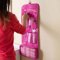Pliable Sac de Lavage Portable Cosmétique Organiser Sacs Multifonction Maquillage Sac Femmes Cas Voyage Sac de Toilette kits