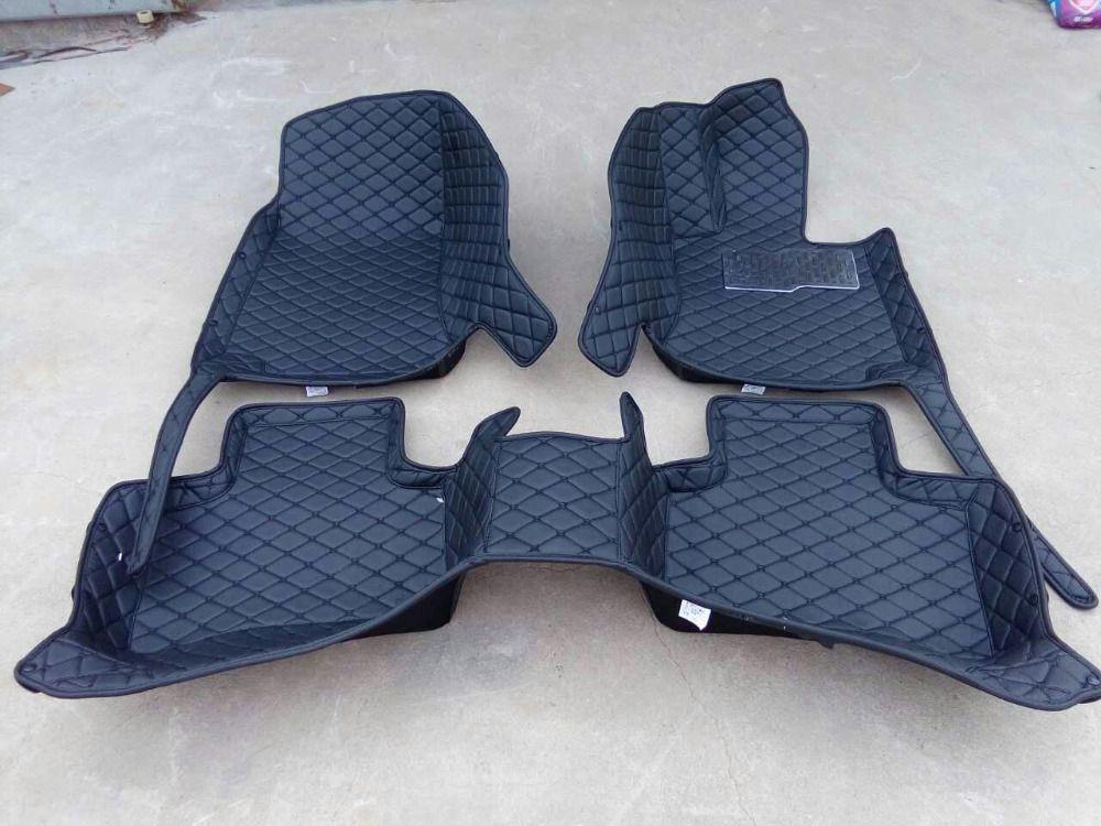 Bueno! Alfombras especiales para mano derecha Lexus LS 600hL largo 2016-2006 alfombras impermeables para LS600hL, envío libre