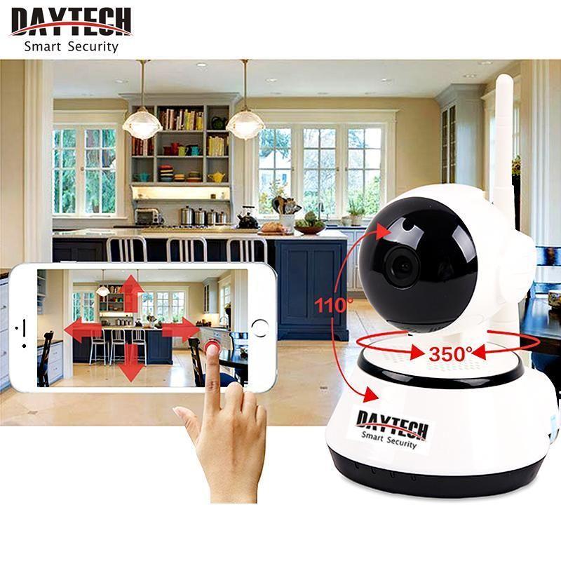 Daytech Home Security IP Camera Wireless WiFi Camera Surveillance <font><b>720P</b></font> Night Vision CCTV Baby Monitor DT-C8815