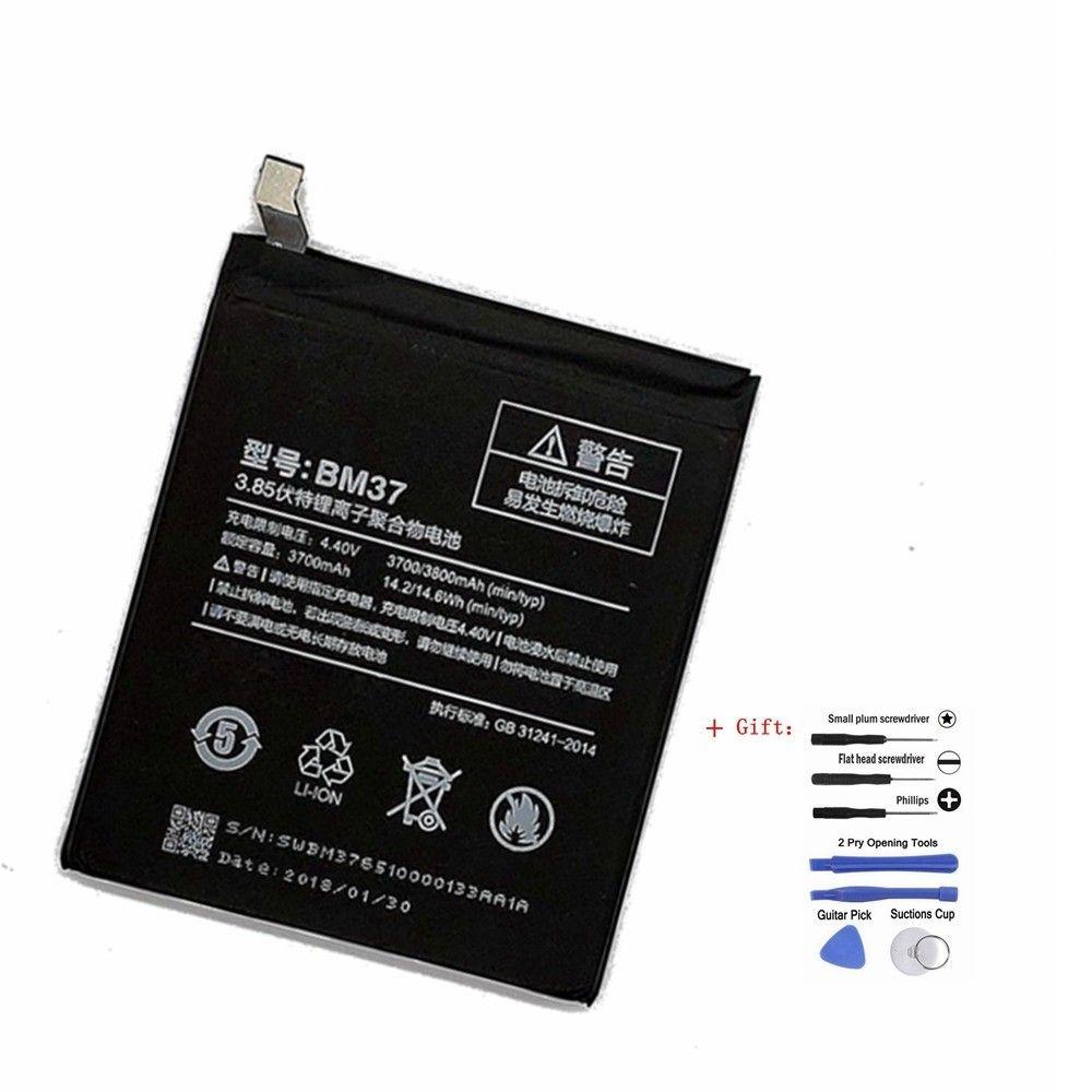 Suqy BM37 Batterie Für Xiao mi mi 5 S plus BM 37 3700 mAh Handy Wiederaufladbare Bateria Akkumulator Mit freies Tool Kit 0 Zyklus