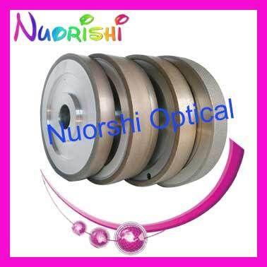 Meule diamantée NID pour Smilar NIDEK Auto lentille Edger CR39 verre Polycarbonate PC lentille rugueuse Fine polissage roue de coupe