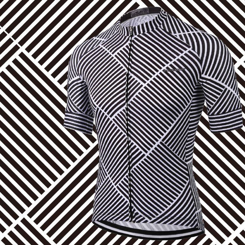 2019 Cheap Short Sleeve Cycling <font><b>Jersey</b></font> Digital Printing Sublimation Cycling Top Blank Polyester Professional Cyclist Bike Shirts
