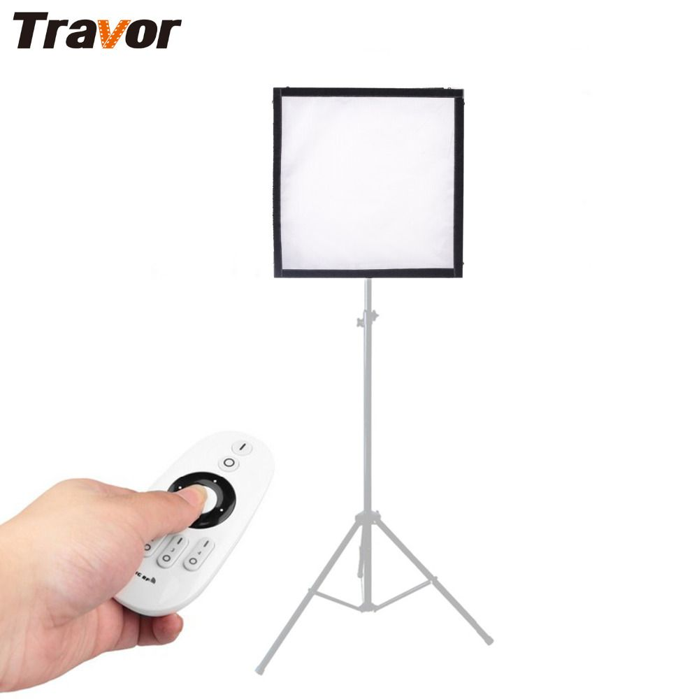 Travor Flexible LED Video Light 256PCS LED Panel Adjustable Bi-Color/Studio Light/Photography light With 2.4G Remote Control