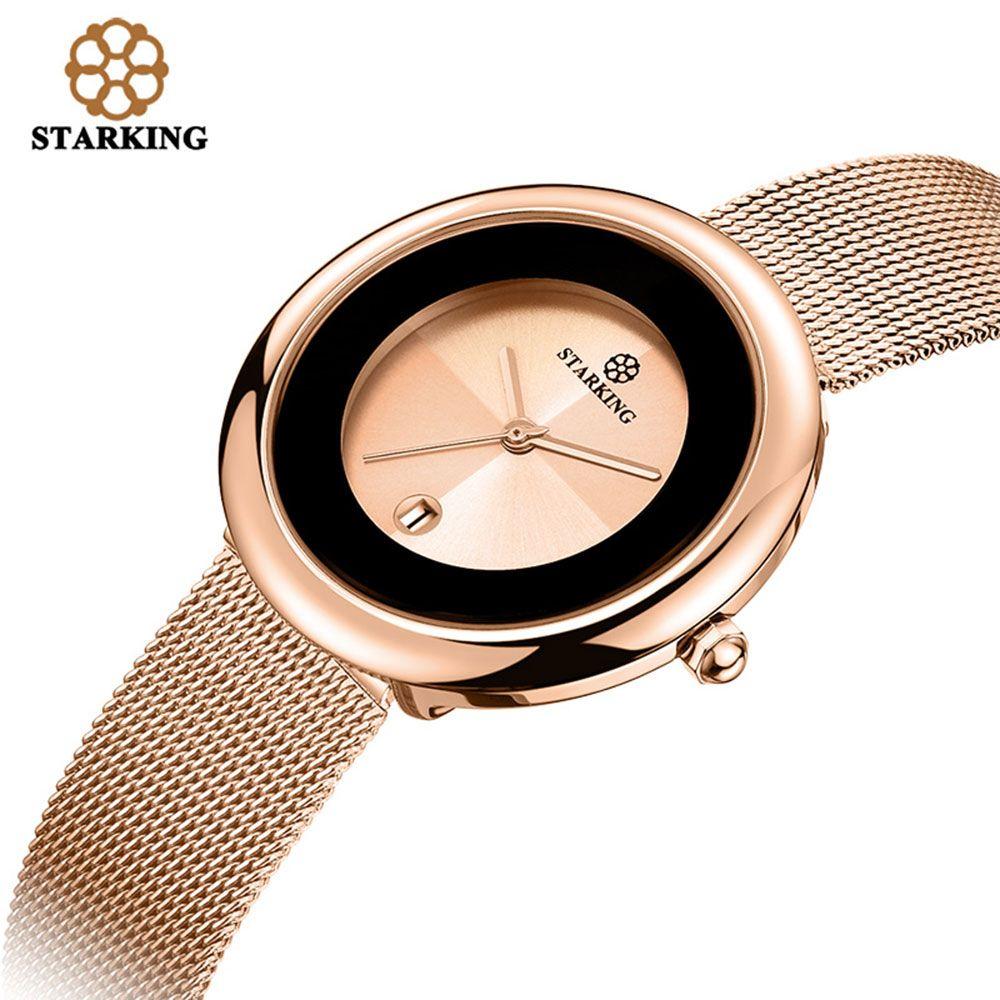 7mm marque de luxe femmes montre à Quartz Relogio Feminino or Rose Bracelet montre dame décontracté en acier inoxydable montres