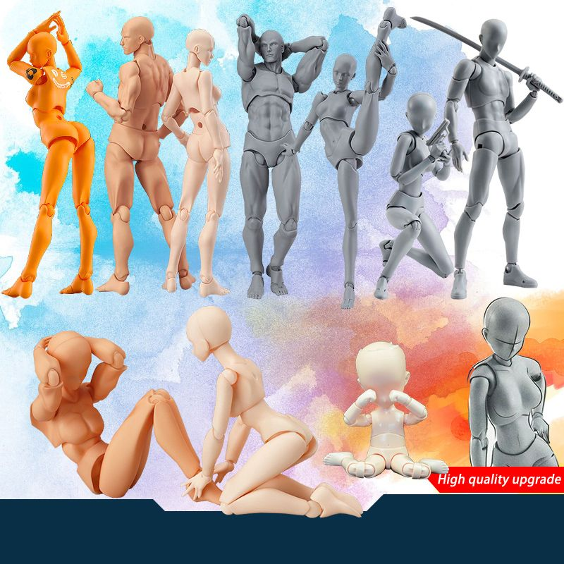 Archétype d'anime il elle Ferrite Figma corps mobile Feminino Kun corps Chan PVC figurine modèle jouets poupée pour collection