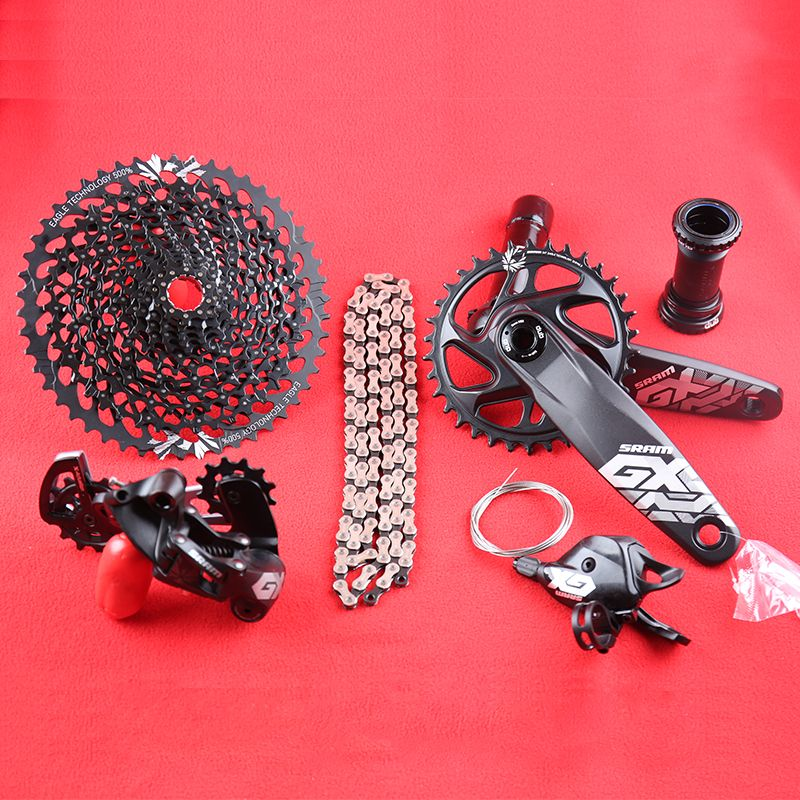 SRAM GX ADLER 1x12s 10-50T Fach-gruppe Kit DUB 32/34T 170 /175mm Trigger Shifter Schaltwerk Kassette Kette Kurbelgarnitur DESC
