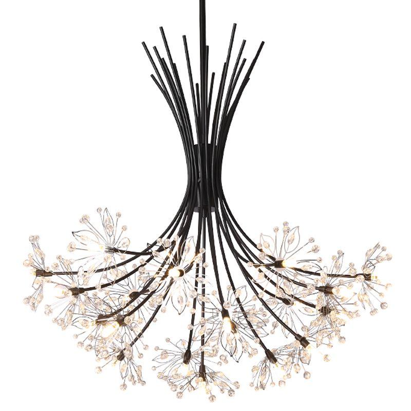Licht Anhänger Hängen Europäischen Kristall Home Deco Techo Moderna Lampara Colgante Glanz E Pendente Para Sala De Jantar Hängen Lampe