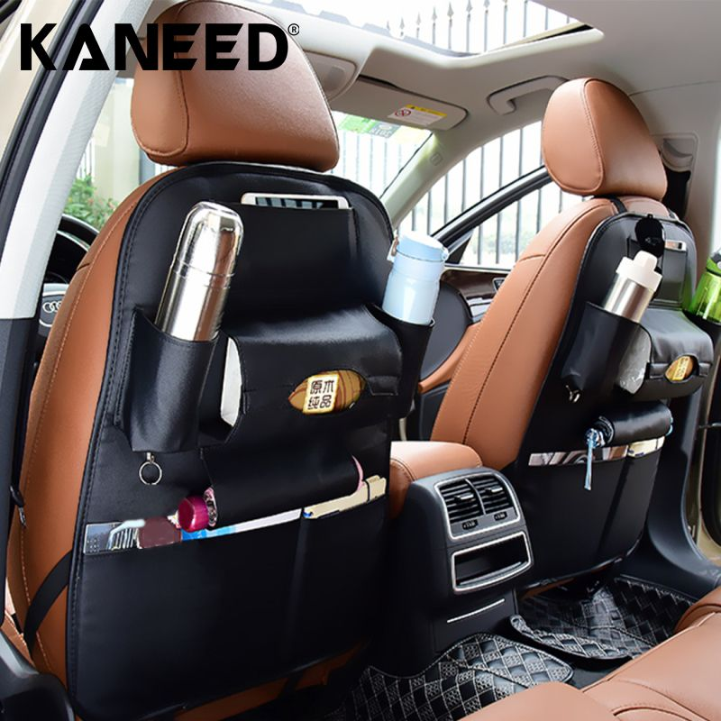 Auto Back Car Seat Organizer Holder Multi-Pocket Travel Storage Hanging Bag diaper bag baby kids car seat Phone hanging bag