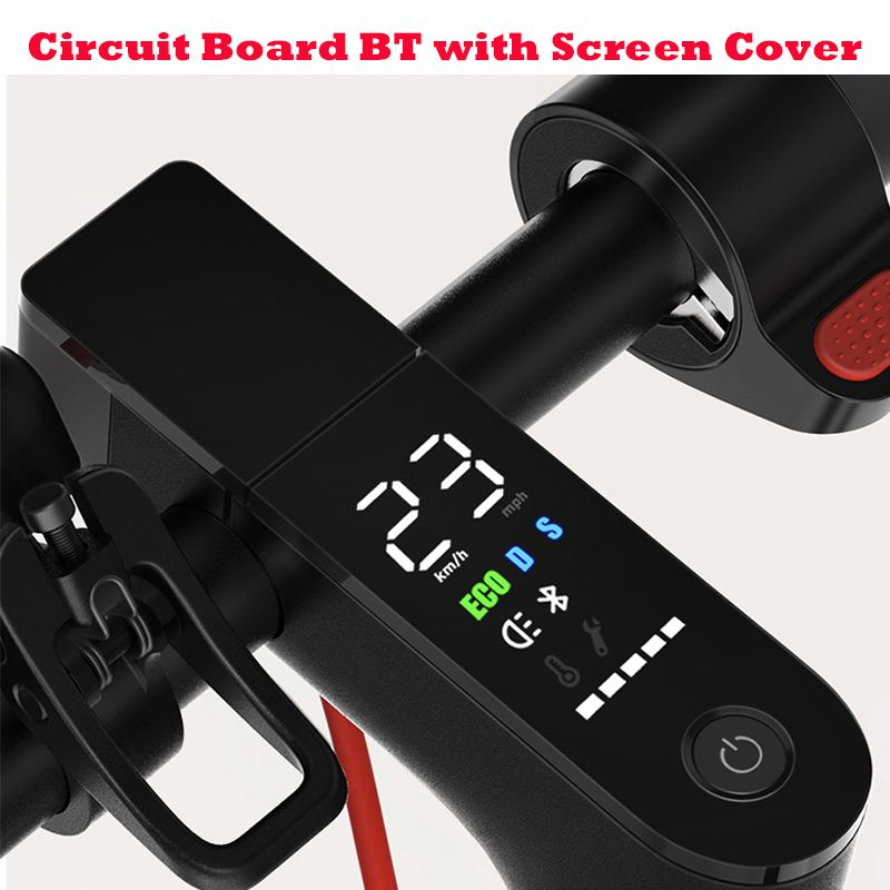 Xiaomi M365 Pro Scooter Circuit Board with Screen Cover For Xiaomi M365 And M365 Pro Scooter Dashboard Circuit Board M365 Parts