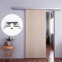 6,6 футов Алюминиевый сплав Матовый Интерьер древесины для раздвижных складских дверей оборудования