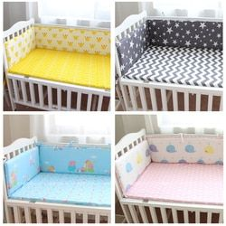 70*29 cm cama de bebé parachoques cama infantil cuna parachoques Protector cama cuna bebé transpirable cojín Protector niño Nursery cama
