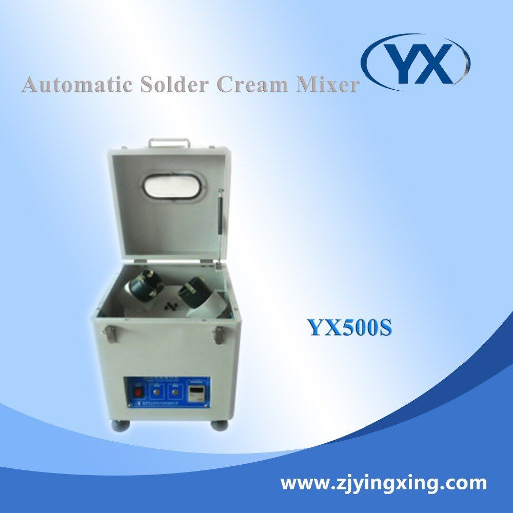 Industrial Ink Machine Automatic Solder Paster Cream Mixer 500-1000g Soldering Machine
