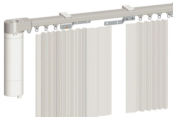 electric curtain, motorized curtain <font><b>track</b></font>, smart home used motorized curtain, DOOYA motor Sunflower brand KT52S, free shipping