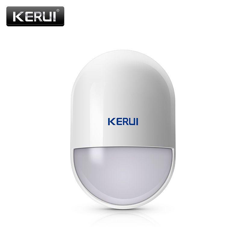 Détecteur de mouvement PIR sans fil KERUI P829 pour système d'alarme domestique KERUI détecteur de mouvement domestique intelligent avec batterie
