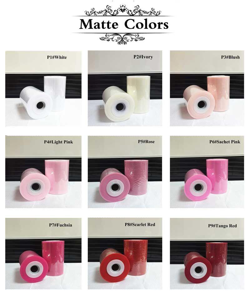 30 types de couleur Polyester Tulle rouleau 100 mètres pour la décoration de fête (également en gros)
