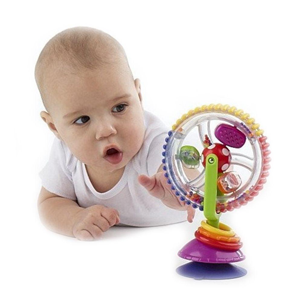 BABELEMI Sassy Developmental Wonder Wheel Sky Wheel Baby Infant Multi-touch Inspire Senses Toys For Baby Kids 0-12 Months