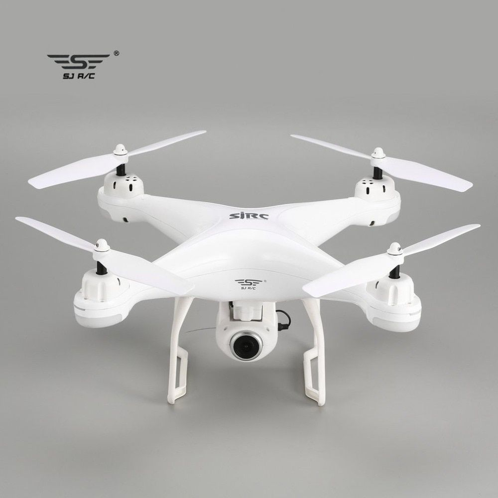 SJ R/C S20W Drone with Camera FPV 720P/1080P Selfie Altitude Hold Drone Headless Mode Auto Return Hover GPS RC Quadcopter