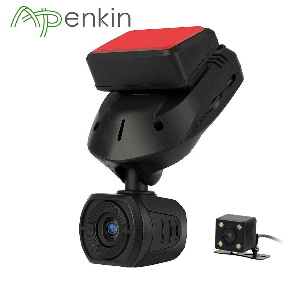 Arpenkin Mini Q9 Car DVR Dash Camera Rear view With Capacitors FHD 1296P Parking Mode GPS Motion Detection Rotate 330 Degree
