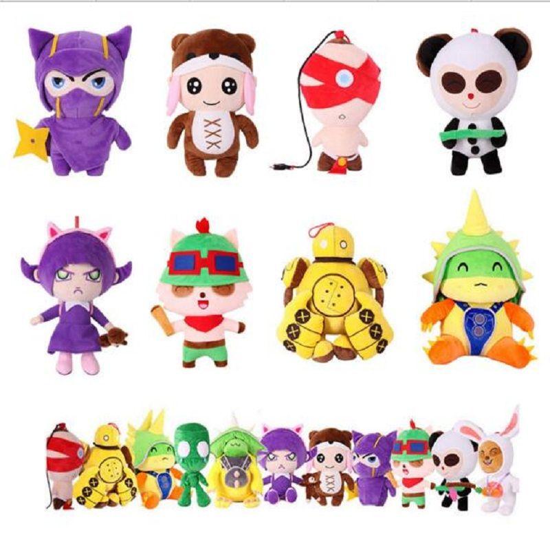 1 unid 20 Cm Lol Héroe Juguete 10 Estilo Diferente Lindo Kawaii Figura Muñeca de Peluche de dibujos animados Juguetes para Bebés El Mejor Calidad de Cumpleaños de Los Niños regalo