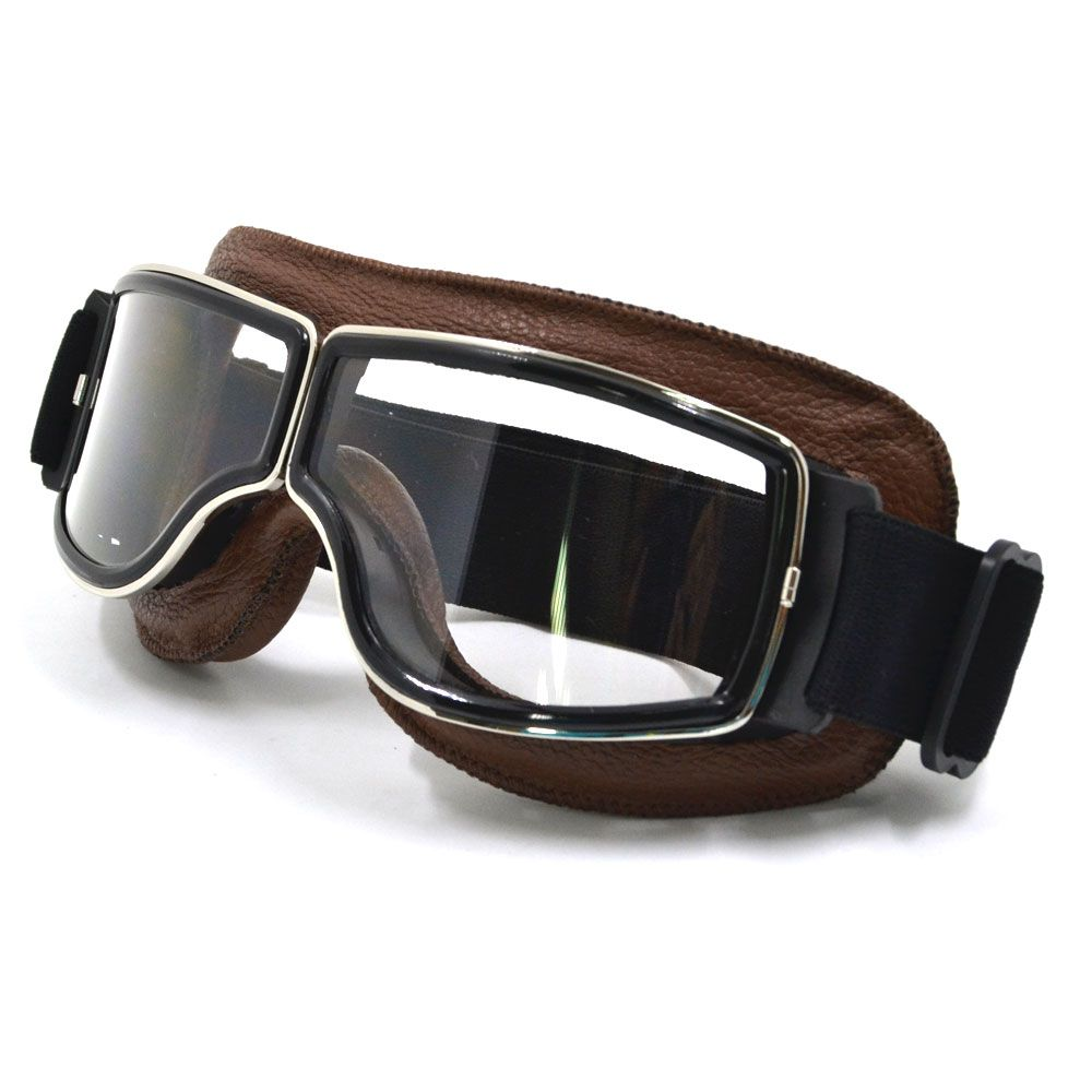 Motorcycle Goggles Sport Racing Off Road Motocross Goggles Glasses Cycling Eye Ware MX Helmets Gafas for Aviator Pilot Cruiser