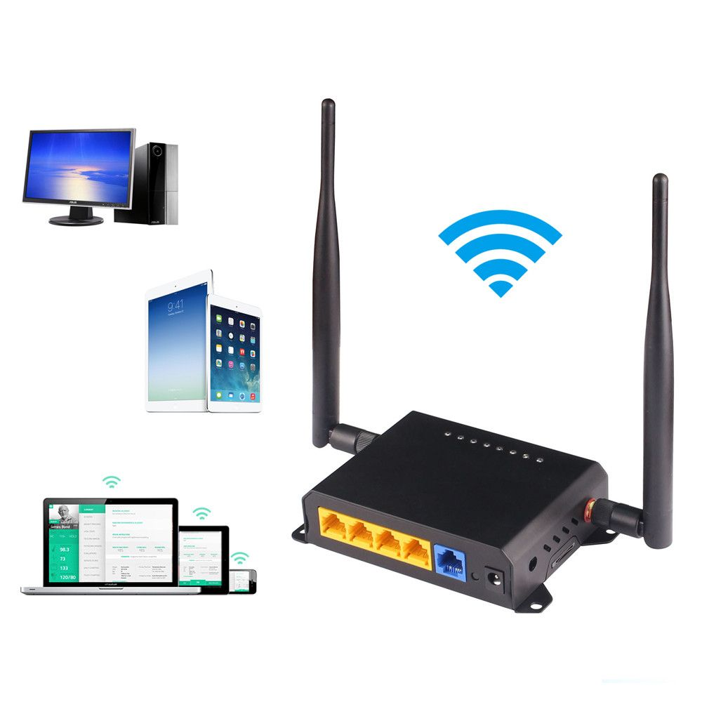 300 Mbps Wireless Wifi Router Long Range 1000 mw Wifi Repeater Wifi Extender Durch Wand 192.168.1.1 Unterstützung Openwrt AP Router