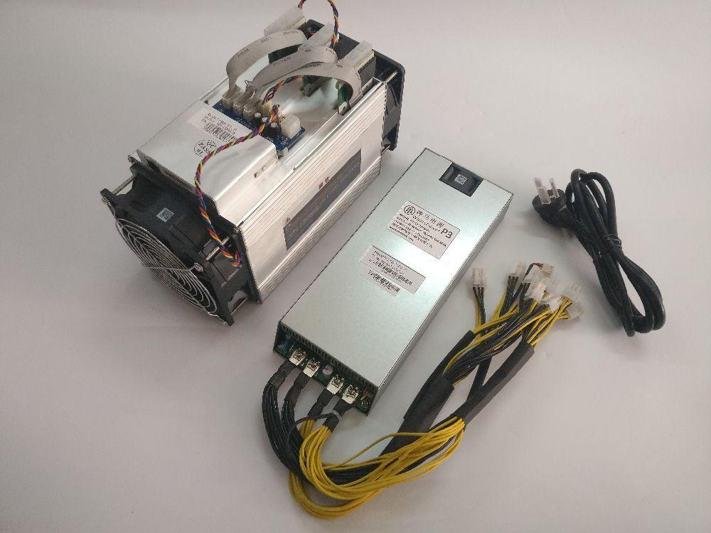 Verwendet BTC BCH miner Asic Bitcoin Miner WhatsMiner M3 10,5 T-11,5 T 0,17-0.18kw/TH Besser als Antminer S7 S9 Ebit E9