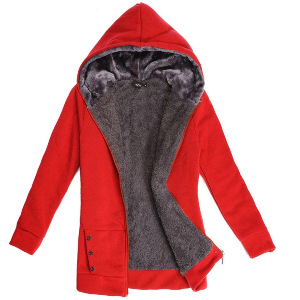 2018 Hoodies Women Fleeve Casaco de Moletons Feminino Casual Sweatshirt <font><b>Thicken</b></font> Warm Coat Female Outerwear Jacket Plus Size