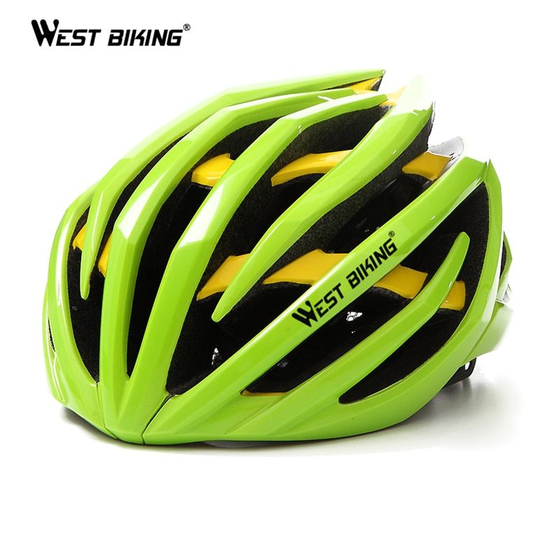 WEST BIKING Cycling Helmet Ultralight Head Protect Safety Helmets EPS Absorb Sweat Capacete Mountain MTB Bike Bicycle Helmet