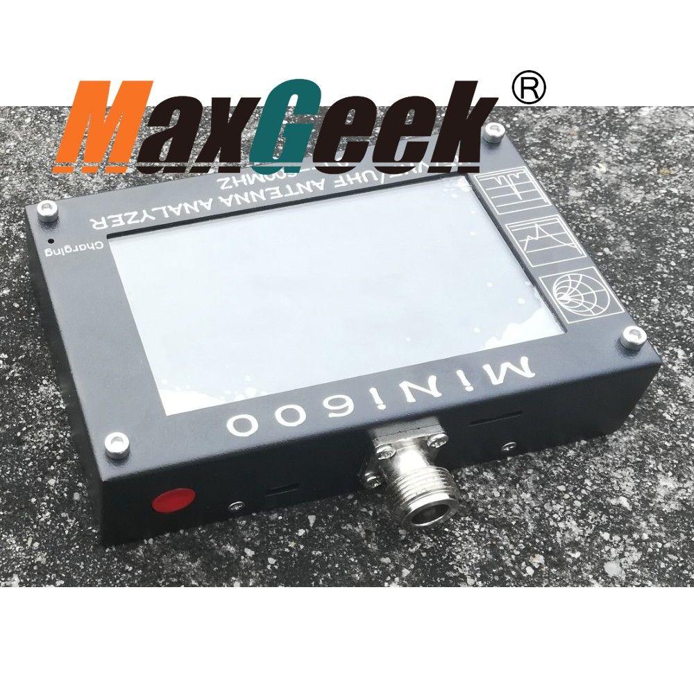 MINI600 HF/VHF/UHF Antenna Analyzer 0.1-600MHZ with 4.3