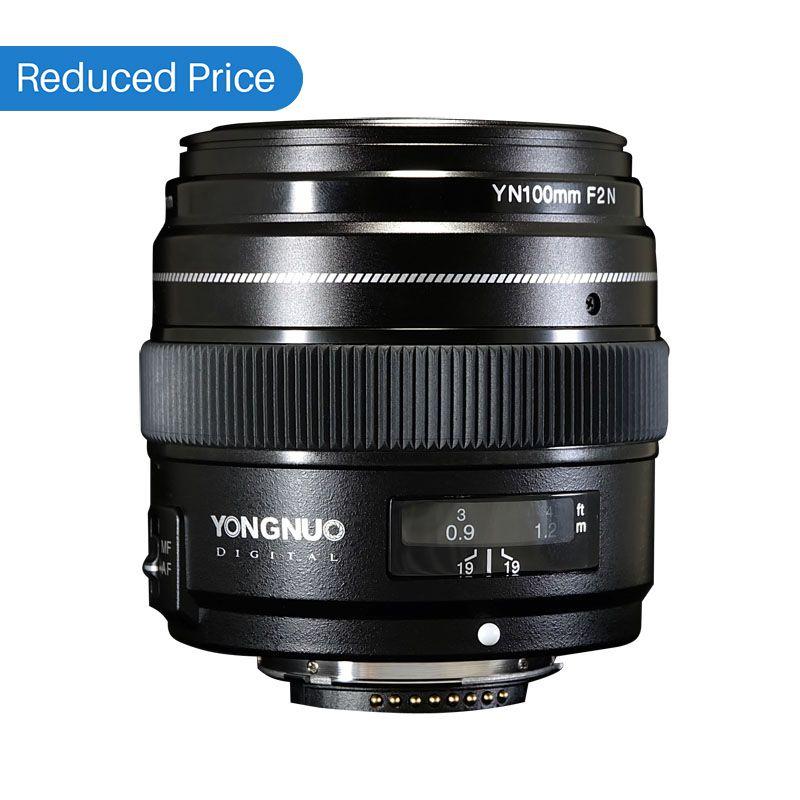 Ulanzi Yongnuo 100 MM F2 Objektiv Große Blende AF/MF Medium Tele Prime Lente YN 100mm Für Nikon d7200 D7 100 D7000 D5600