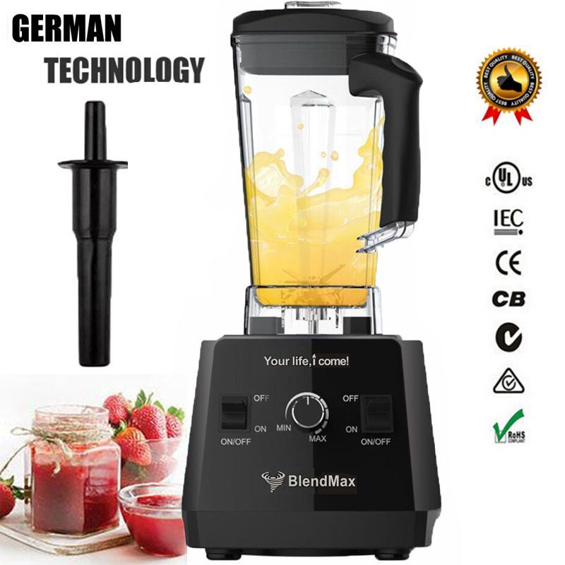 BPA FREI 3HP 2200 watt Heavy Duty Kommerziellen Grade Mixer Mixer Entsafter High Power Küchenmaschine Eis Smoothie Bar Obst mixer