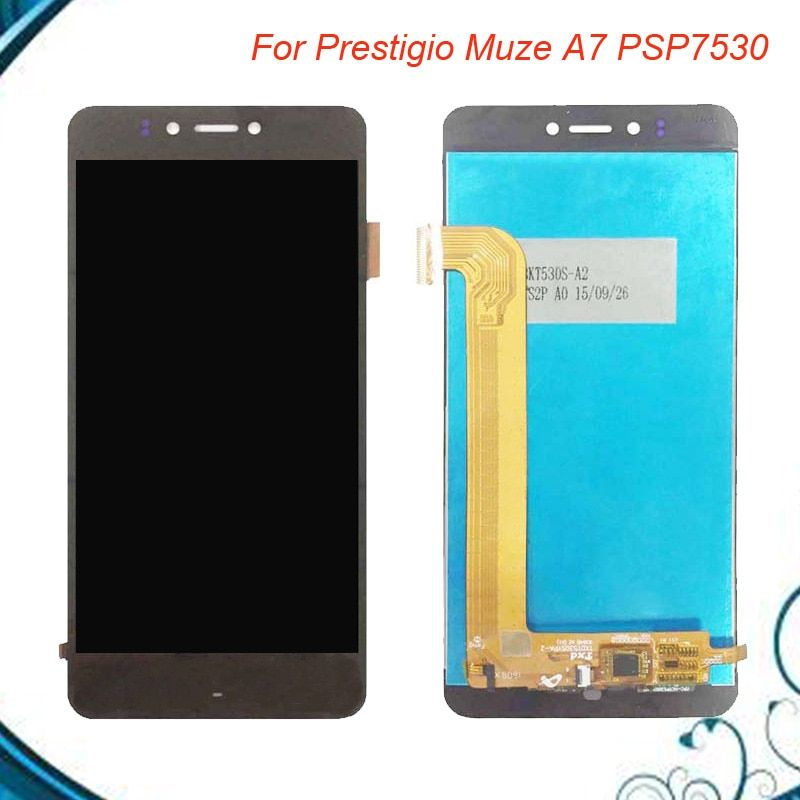 5'' New Module for Prestigio Muze A7 PSP 7530 DUO PSP7530DUO PSP7530 DUO lcd display+touch screen Assembly