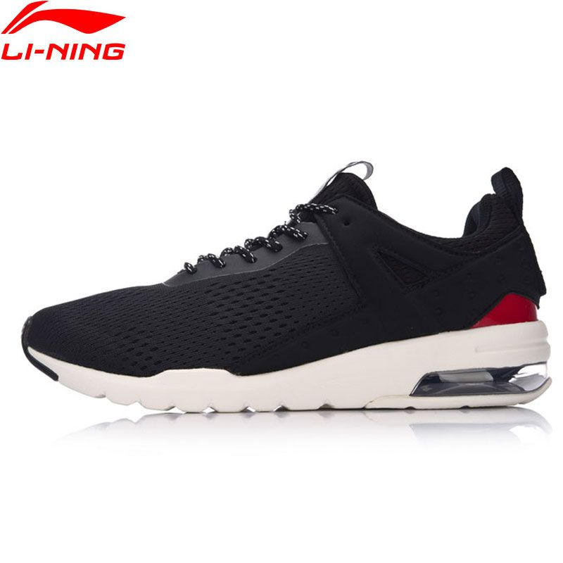 Li-Ning Men Essential Pacer Air Cushion Walking Shoes Sports Life Leisure Breathable Sneakers LiNing Sports Shoes GLKM093 YXB090