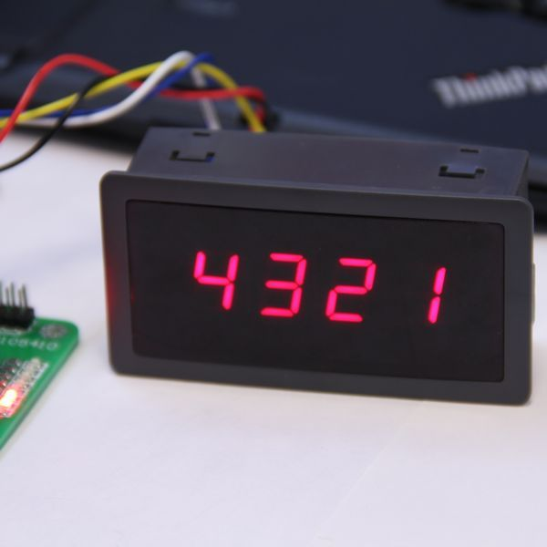 4 Dígito 7 Siete Segmentos LED Display Controller 5 V FOR_Arduino unor r3 Compatible