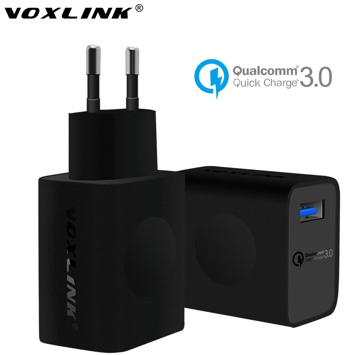 [Qualcomm Certificat] VOXLINK Charge Rapide 3.0 USB Mur Chargeur 18 W Voyage USB Chargeur Pour Samsung Galaxy S7/S7 Bord LG/Sony