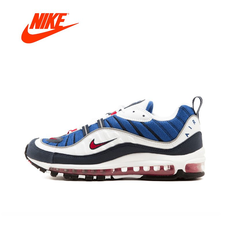Original New Arrival Authentic NIKE W Air Max 98 Classic Breathable Men Running Shoes Sport Outdoor Sneakers Comfortable AH6799