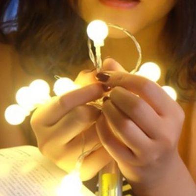 Warmweiß Batteriebetriebene Lichterketten Halloween Weihnachten weihnachten Neujahr Party Fairy Hochzeit Bar Dekoration Lampe