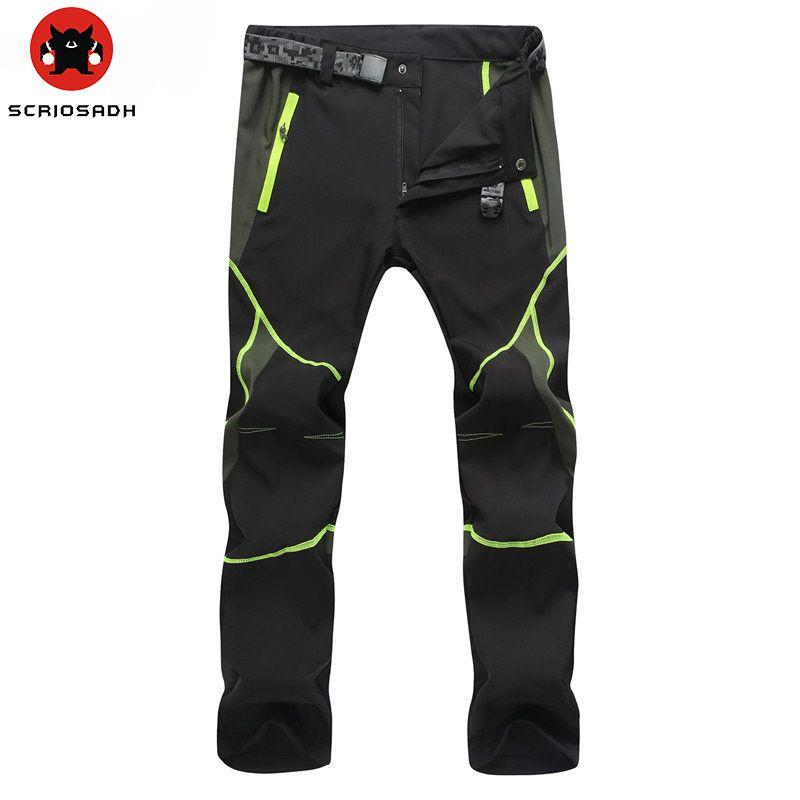 Outdoor Men Women Quick-drying Pants Sports Man <font><b>Hunting</b></font> Pants MountainClimbing pantalones Quick Dry Waterproof Windproof Pants