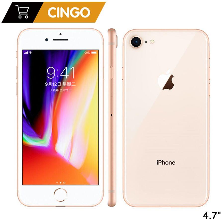 Original Apple iPhone 8 2GB RAM 64 GB/256 GB Hexa-core IOS 3D Touch ID LTE 12.0MP Kamera 4,7 zoll Apple Fingerprint 1821mAh