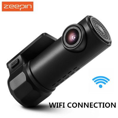 ZEEPIN S600 720P WiFi Hidden Dash Cam 360 Degree Max Turning 170 Degree Wide Angle Lens WDR G sensor Car Driving Recorder