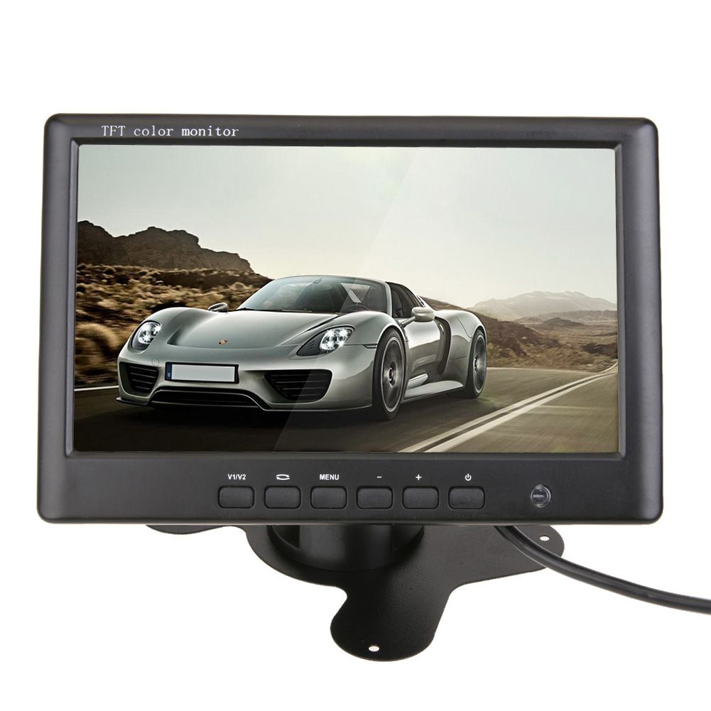7Inch Car Monitor Rearview Camera Parking Reverse Monitors System HD Video Camera Universal Car Vehicles Rearview Mirror Monitor