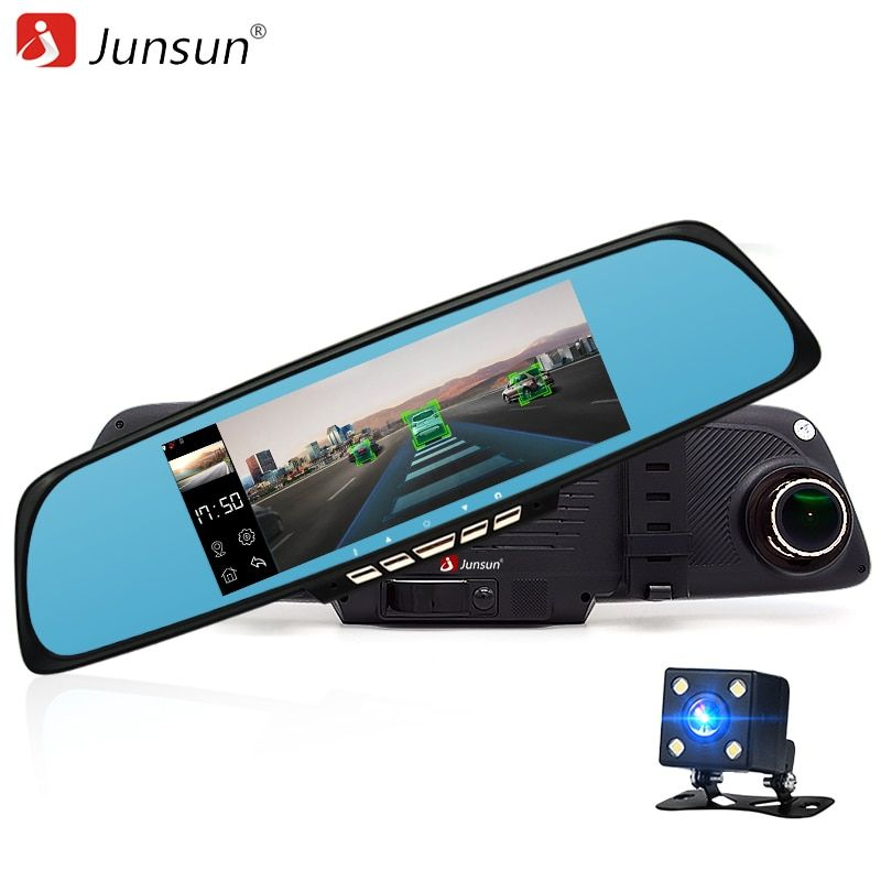 Junsun A700P 6.86 inch Car Navigation gps Android 4.4.2 ADAS Navigator with Car Video Recorder GPS Camion for Vehicles Wifi GPS