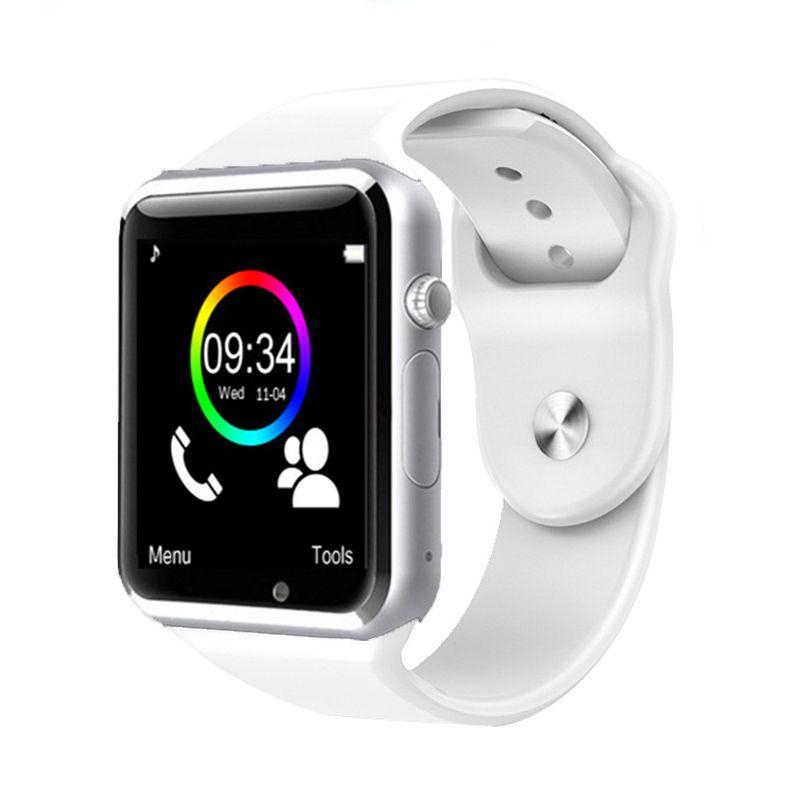 Bluetooth montre smart watch W8 & A1 Avec TF carte SIM caméra Montre-Bracelet pour IOS iphone Samsung Android Smartwatch soutien whatsapp