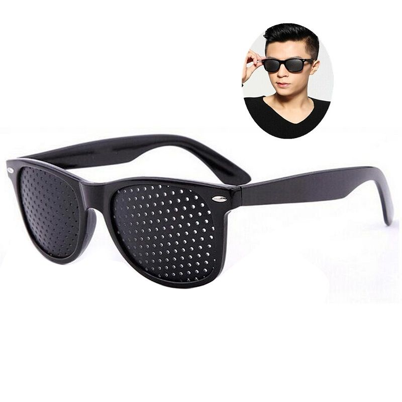 1 Pcs Vision Protector Pin hole Glasses Improve Your Eyesight Best Choice For Reading Writing Or Watching TV Eye Fitness