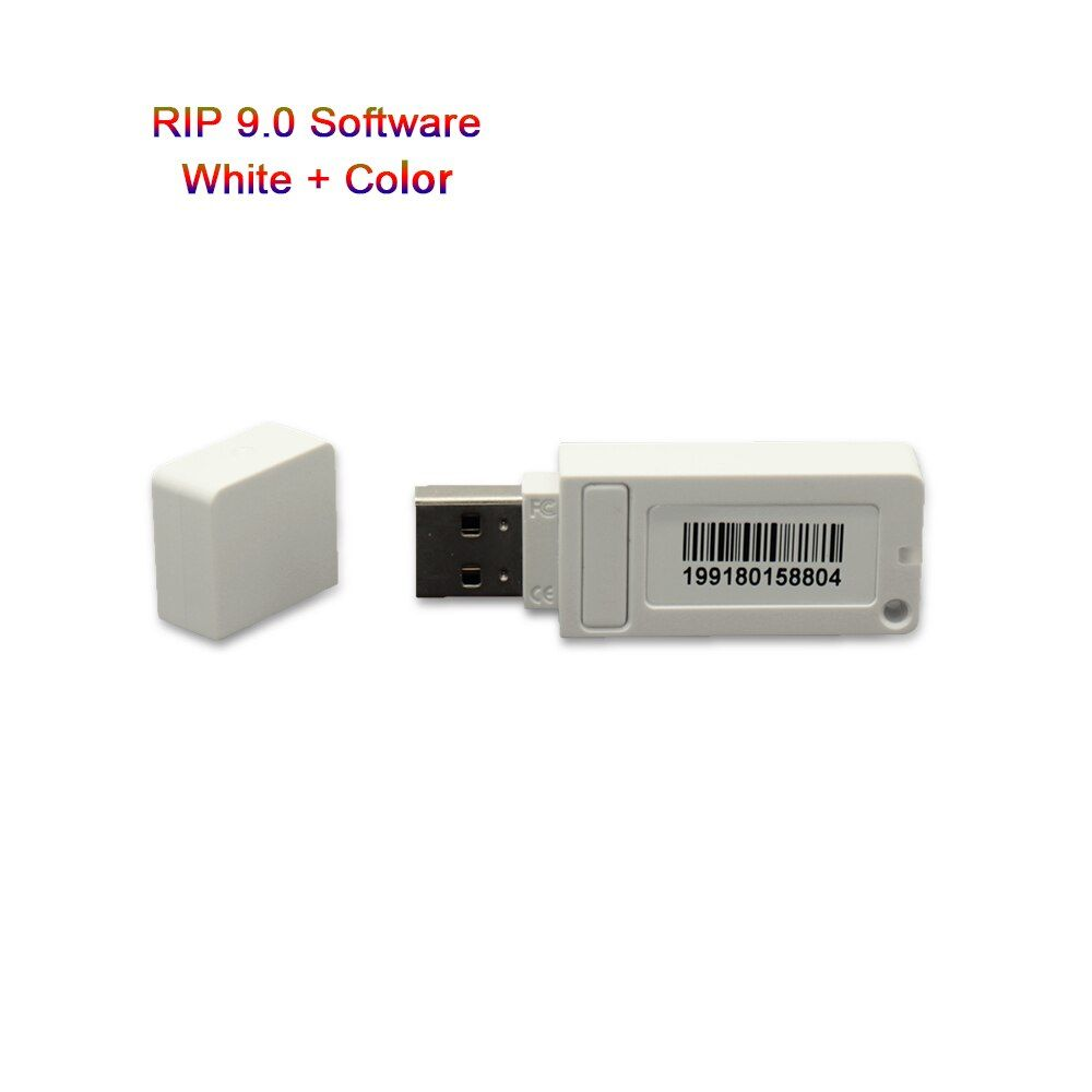 New Acrorip AcroRIP White ver9.0 software with Lock key dongle for Epson All kinds of Models UV Inkjet printer RIP Software