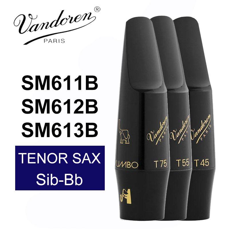 France Vandoren SM611B SM612B SM613B T45 T55 T75 Jumbo JAVA Tenor Saxophone Mouthpiece / Tenor Sib-Bb Sax Mouthpiece