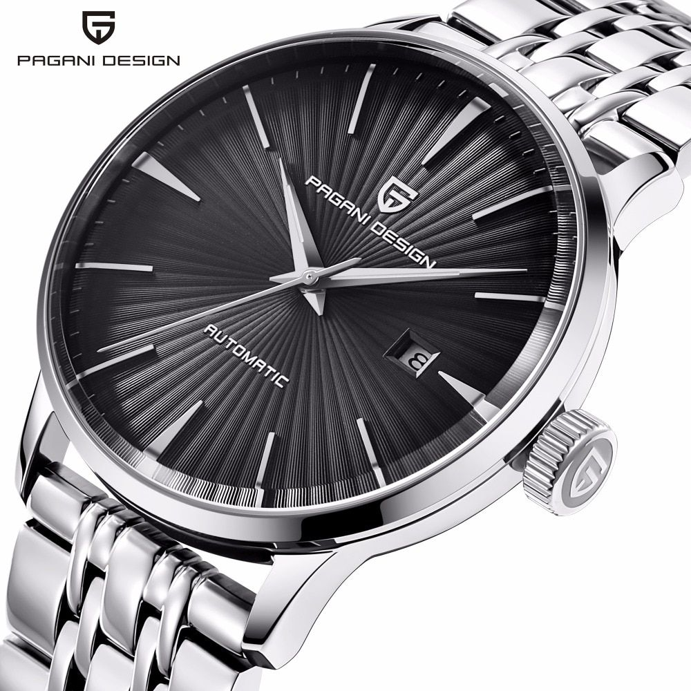 PAGANI Mode Mechanische Herrenuhr Wasserdicht klassische Marke Luxus Automatische Business männliche armbanduhr sport relogio masculino