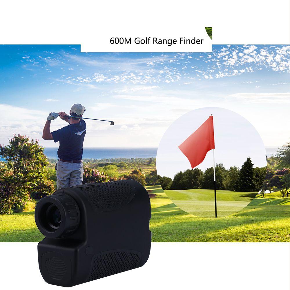 Neue ankunft laser-entfernungsmesser laser-distanzmessgerät Digitalen 6X Monocular jagd golf laser-entfernungsmesser 600 m maßband